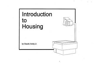 Introduction to Housing - 1994