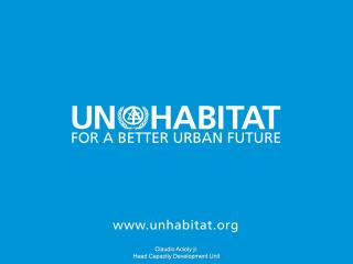 QUIZ - SG UN-Habitat International Leaders in Urban Governance Programme - 2017