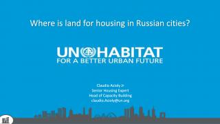 Where is land for housing in Russian cities? CPI MUF Moscow - 2018