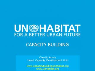 Capacity Building - An overview - UN-Habitat - 2019