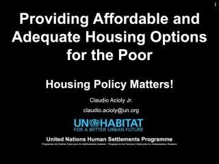 Housing Course - 3 - Housing Markets and Affordability - 2019
