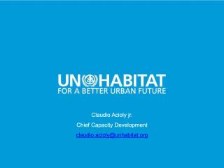 Habitat Partners University Opening - HUB Meeting - 2015