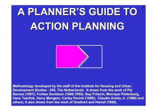A Planner's Guide to Action Planning - Introduction - 2000